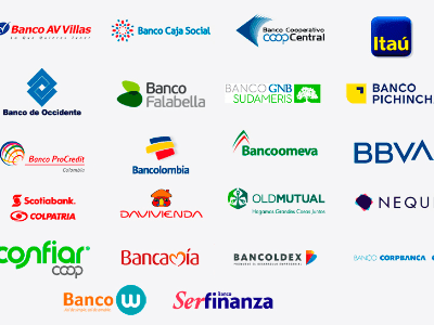 Bancos para pago SOI